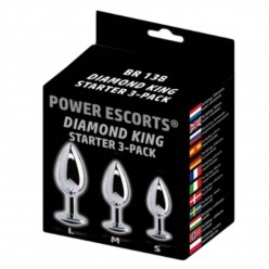 Diamond king 3 - pack steel...