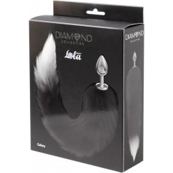 Anal Plug Diamond Galaxy Black