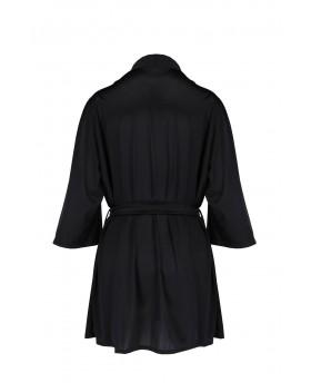 Sybilla Peignoir Black