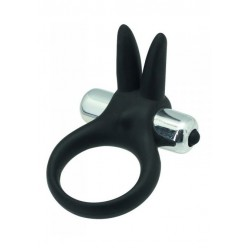 Timeless stretchy ring black