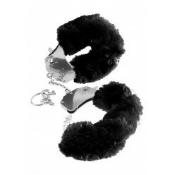 FF FURRY CUFFS - BLACK