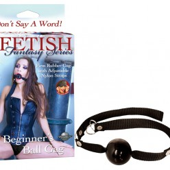 FF BEGINNER'S BALL GAG - BLACK