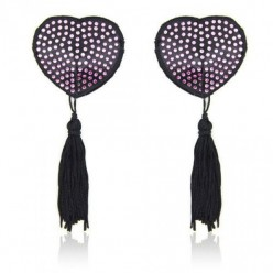 Heart shine nipples tassels...