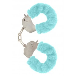 FURRY FUN CUFFS PALE BLUE...