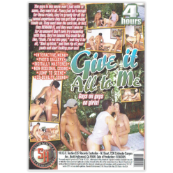 DVD-GIVE IT ALL TO ME