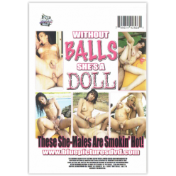 """DVD-WITHOUT BALLS SHE""""S A DOLL"""