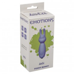 Emotions Funny Bunny Purple