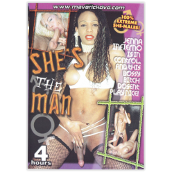 "DVD-SHE""S THE MAN"