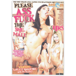 DVD-PLEASE ASS FUCK THE...