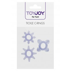 TICKLE C-RINGS PURPLE