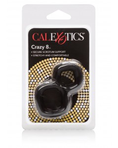 CRAZY 8 RING BLACK