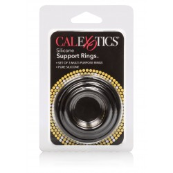SILICONE SUPPORT RINGS BLACK