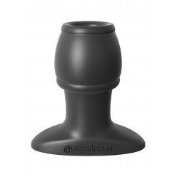 OPEN WIDE TUNNEL PLUG BLACK