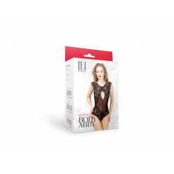 Body Abby (mesh, lace), black