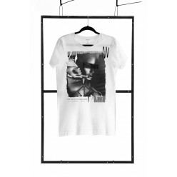 T-shirt men white